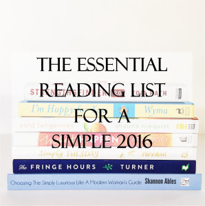 Essential Reading List for Simple 2016 (square)