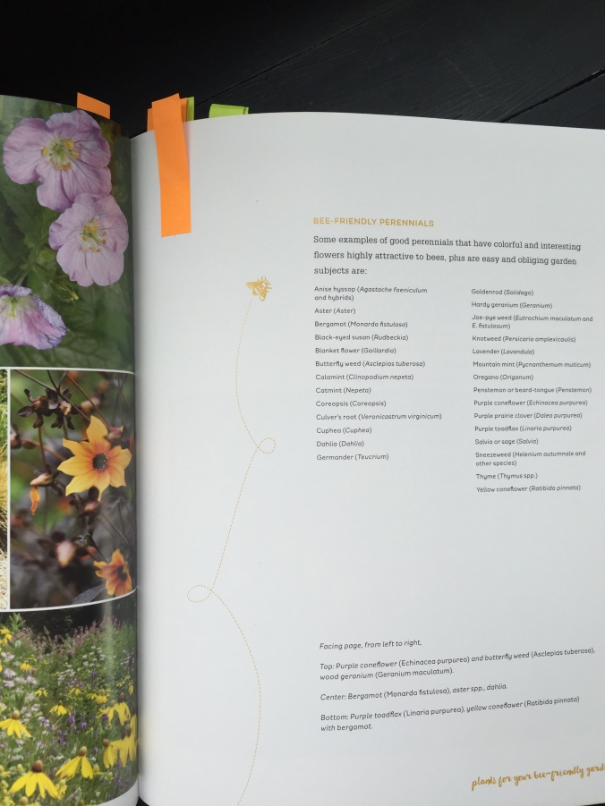 The Bee-Friendly Garden Inside page